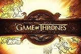 Grupo Erik Editores Game of Thrones Logo Poster, Madera, Multicolor,...
