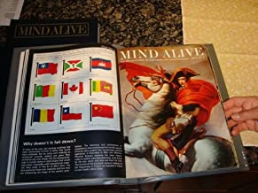 Mind Alive (The Magazine from CBS that grows into an Encyclopedia, Volumes 1, 2, 3, 4, 5, 6, 7, 8 + Index + Learning Program Game Booklets)