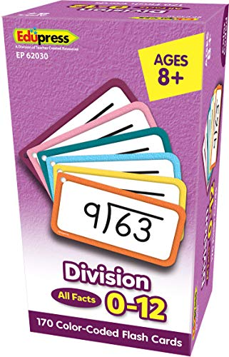 Teacher Created Resources Division Flash Cards - All Facts 0–12