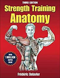 anatomy book, strength training anatomy, frederic delavier, bodybuilding book, fitness book