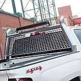 ARIES 1110206 AdvantEDGE Chrome Aluminum Truck Headache Rack Cab Protector, Select Toyota Tundra