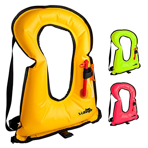 X-Lounger Inflatable Snorkeling Vest