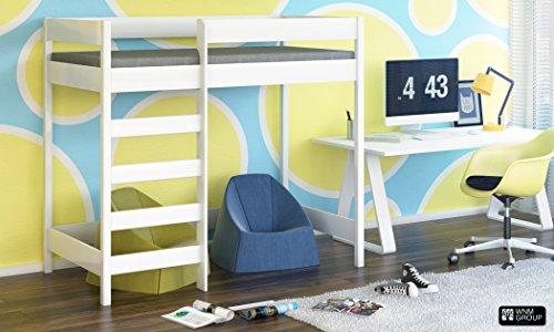 Hubi Loft Bunk Bed front enter