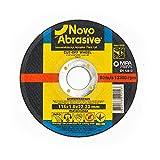 NOVOABRASIVE - Disco de corte (115 x 1 x 22,2 mm, 50...