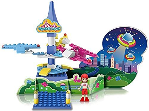 Ztrend Wonderland Deco Astro Plane Gearot Motion Building Block Toy Set by ZTrend