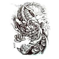 NBP/5枚セット/タトゥーシール/A5 なバリエーション2 (麒麟4)