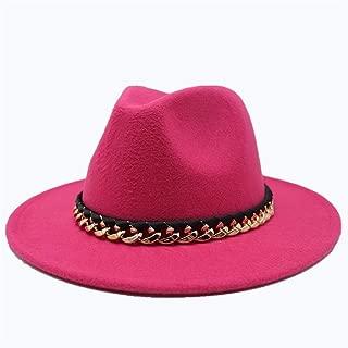 Hat Elegant Lady Fascinator Trilby Hat Men Women Wool Fedora Hat Travel Autumn Cloche Jazz Hat Wide Brim Church Hat Fashion Hat