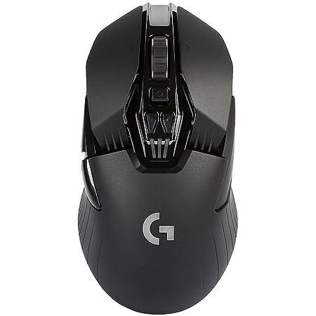 Logitech G G900, Ratón, Negro