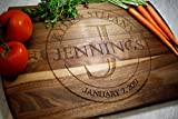 Blue Ridge Mountain Gifts Personalized Cutting Board Real Wood -...