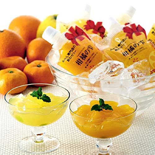4種セット 柑橘の雫(しずく) 極上飲むゼリー 12個入り(贈答用・化粧箱入)