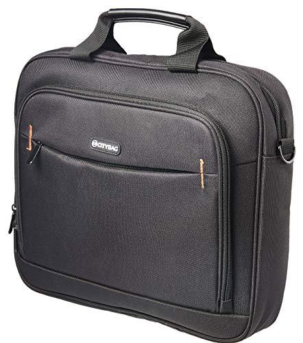 City Bag - Maletín de Estilo Ejecutivo - para portátiles y Tablets - Material de 600 Denier - 14 Pulgadas