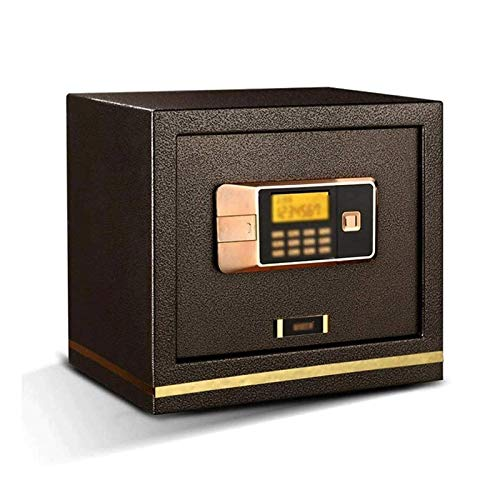 SMLZV Electronic Digital Security Safe Lock Box Solid Steel Construction - Safe Box Security Safe for Home,Business,or Travel