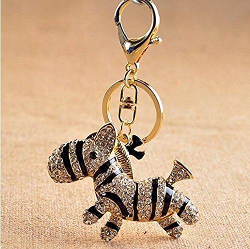 Jellbaby - Portachiavi a forma di elefante con tacco alto, ciondolo per borsa da donna, accessorio per auto gatto