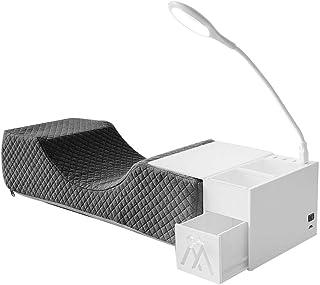 Generic Wimper Extension Nekkussen Pu Leer/Massaal Extension Enten Kussen Make-Up Tool - Grijs Massaal