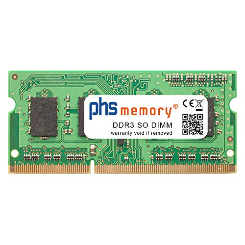 PHS-memory 4GB RAM módulo para Acer Aspire E5-471-3422 DDR3 SO DIMM 1600MHz PC3L-12800S