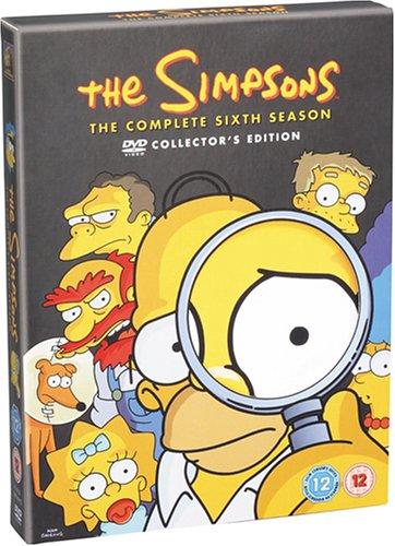 ザ・シンプソンズ シーズン6 DVDコレクターズBOX