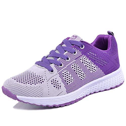 Generic Brands Sneakers Women Flying Woven Mesh Women's Shoes Sports Casual Shoes Flat Students Running Shoes Women