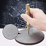 Pointeau automatique 12,7cm Maso Pointeau automatique en acier inoxydable avec réglable frappe, déterminer position de perçage pour acier, bois, plastique