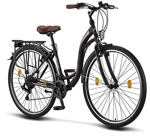 Licorne Bike Stella  Schwarz  28 Bild