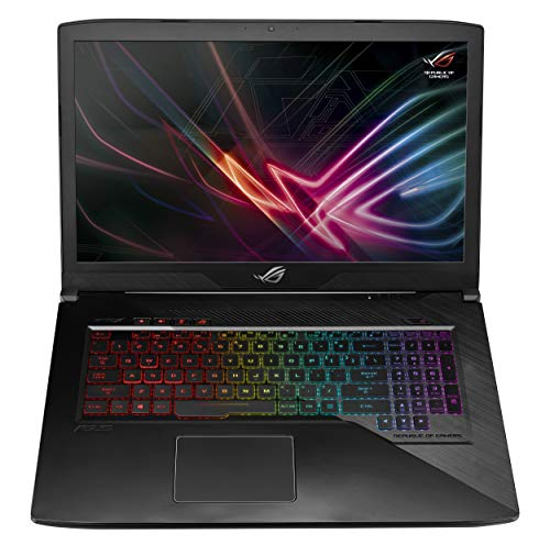 Asus ROG GL703GE EE217T PC Portable Gamer 17.3' Gris Métal (Intel Core i5, RAM 8 Go, HDD1 1To + SSD 256 Go, Nvidia...