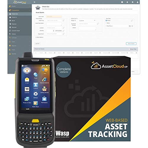 For Sale! Wasp Barcode - 633809006258 - Wasp HC1 2D Mobile Computer with QWERTY Keypad - 3.8 LCD - W...