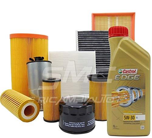 SMC - Kit huile Castrol Edge 5W30 6 litres + 4 filtres - Bosch