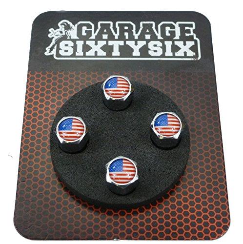 Garage-SixtySix Bouchons de valve USA / 4 pièces/modèle : Pittsburg