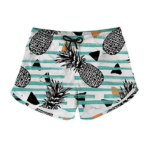 fangfaner zomer dames strand broek Cactus ananas print zwembroek