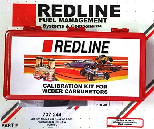 Weber 40, 44, 45, 48 DCOE IDF Dual Carburetor Jet Pack Kit NEW 737-244