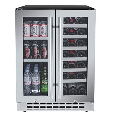 Titan Bottles Beverage Function Door Left Open