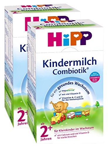 Hipp Kindermilch Combiotik 2+, ab dem 2. Jahr, 2er Pack (2 x 600g)