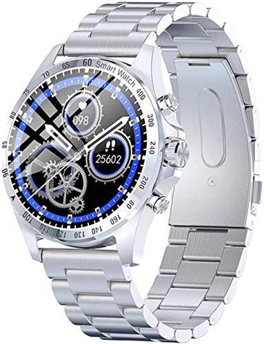 Reloj inteligente KW09 hombres s reloj electrónico 2020 regalo fitness pulsera presión arterial inteligente smartwatch Android Ios-D