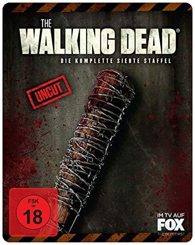 The Walking Dead - Staffel 7 (Uncut Limited Steelbook) [Blu-ray]