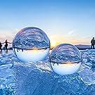 ESMART 100mm Glaskugel fürFotografie, K9 Lensball mit Ständer und Tasche, Fotografie Zubehör, Fotokugel Kristallkugel, Weihnachtskugeln/Schneekugel