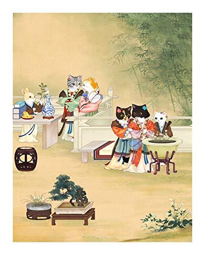 Puzzle Feliz Animal Buddies Rompecabezas - Volver Gardenâ 500/1000 Pieza de Royal Cat for Adultos niños-Madera Juegos Juguete único del hogar del Regalo (Size : 1000pcs)