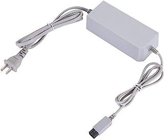 充電 ACアダプター WiiU 専用 GamePad ゲームパッド 充電 ACアダプター 持ち運びやすい ニンテンドーWii用電源アダプター Wii U 付属のGamePadや充電スタンドに対応適用(US)