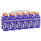 Gatorade G2 Sports Drink, Grape - Low sugar, 12 Fluid Ounce Bottles (Pack of 12) (Packaging May Vary)