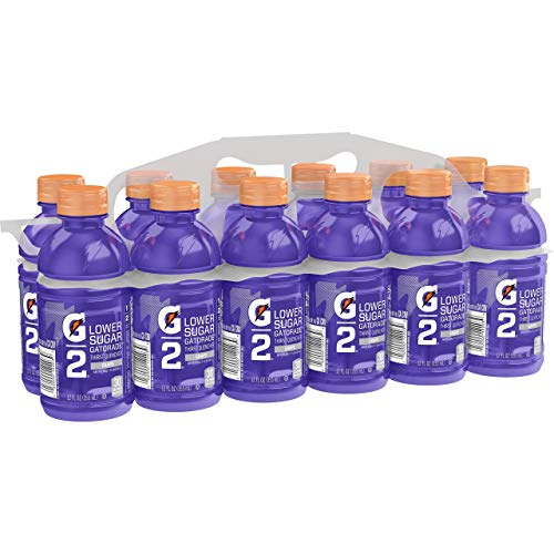 Gatorade G2 Sports Drink, Grape - Low sugar, 12 Fluid Ounce Bottles (Pack of 12)