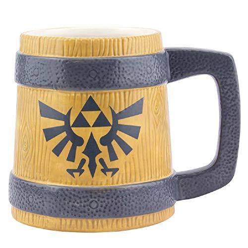 Legend of Zelda - Taza de desayuno, diseño de Hyrule