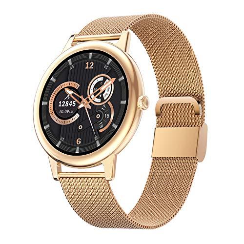 Smart Watches Intelligente Uhren Für Frauen, Fashion Ladies Sports Watch Fitness Tracker, IP68 wasserdichte Fitnessuhr Mit Herzfrequenz- Und Blutdruckmessgerät Für Android Und IOS