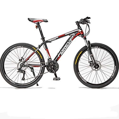 Alto-Acciaio al Carbonio Mountain Bike, 24/26/27,5 Pollici 21/24/24/30 velocità Bicicletta Bici,...