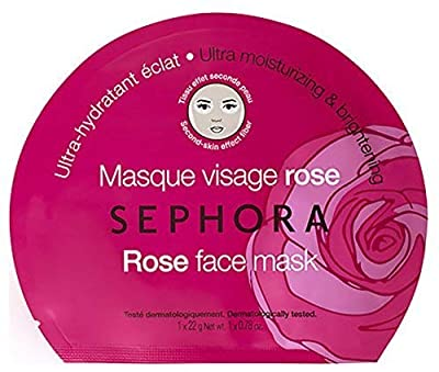SEPHORA COLLECTION Rose Face Mask - Ultra Moisturizing & Brightening 0.84 oz. by SEPHORA COLLECTION