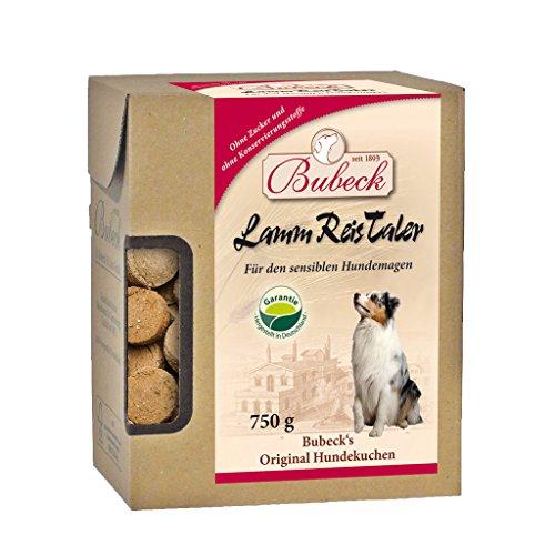 Bubeck Lamm+Reis Taler Hundekuchen reizfreier Snack Leckerli 10 kg