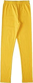 SRISHTI By fbb Solid Stretchable Leggings Yellow