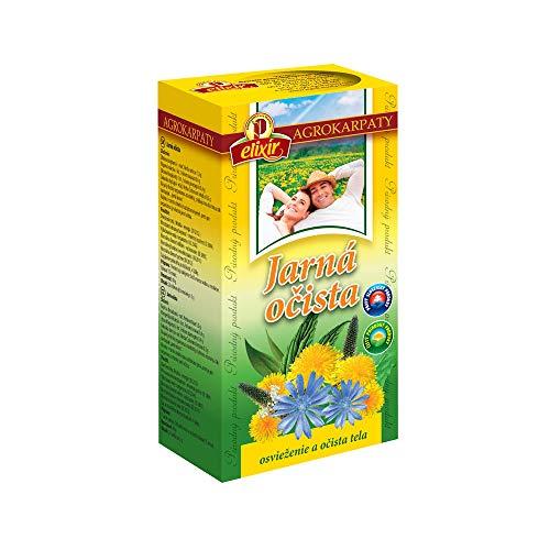 Spring Cleansing Detox Tea   Vitality, Energy, Immunity, Intestinal Health, Kidneys, Bladder, Liver   Pure Natural Herbal Tea (20 Tea Bags 40g)