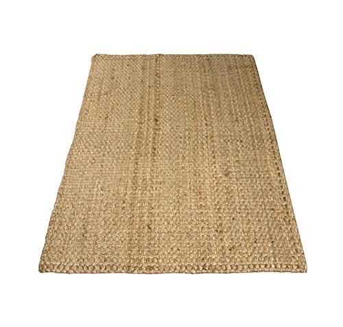 Charles Bentley Jute Teppich - Flur Runner Mat - Teppich mit rustikalen Look - Handmade - 100x150cm