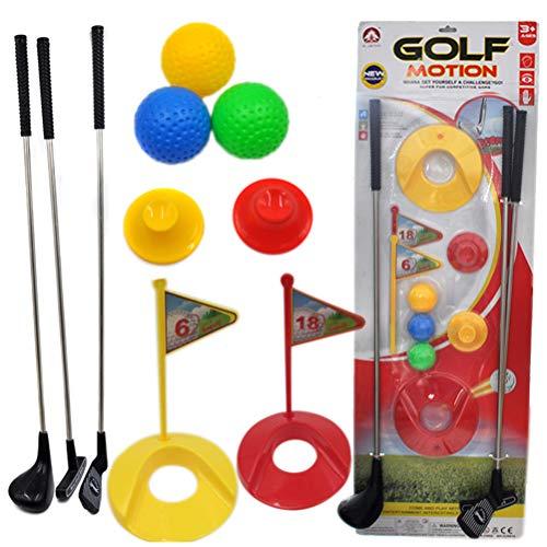 VOSAREA Golf Club Ensemble éducatif interactif Jouet de golf pour enfants