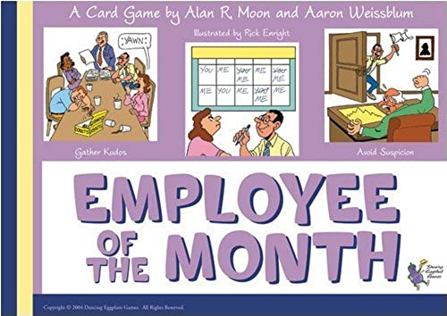 Employee of the Month Card Game by Diet Evil Games