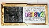 StandNtall Gun Concealment Wall Decor Picture Frame Gun Safe Home Decoration Pistol Safe Hidden