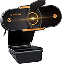 2K Webcam, 2021 Upgraded Full HD Web Camera for Computer with Privacy Cover, USB Web cam with Microphone Auto Focus webcam...